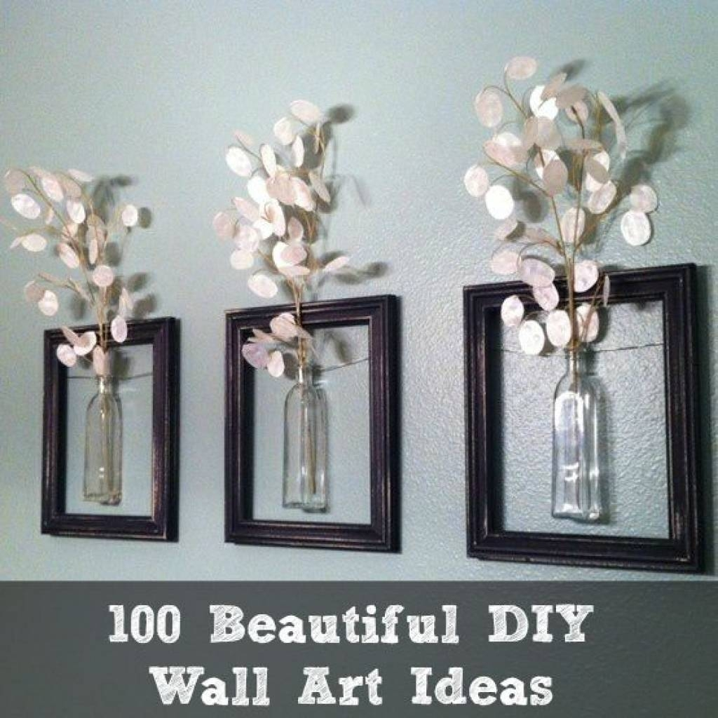 Diy Wall Decorations 1000 Ideas About Diy Wall Decor On Pinterest Pertaining To Current Pinterest Diy Wall Art (View 21 of 25)