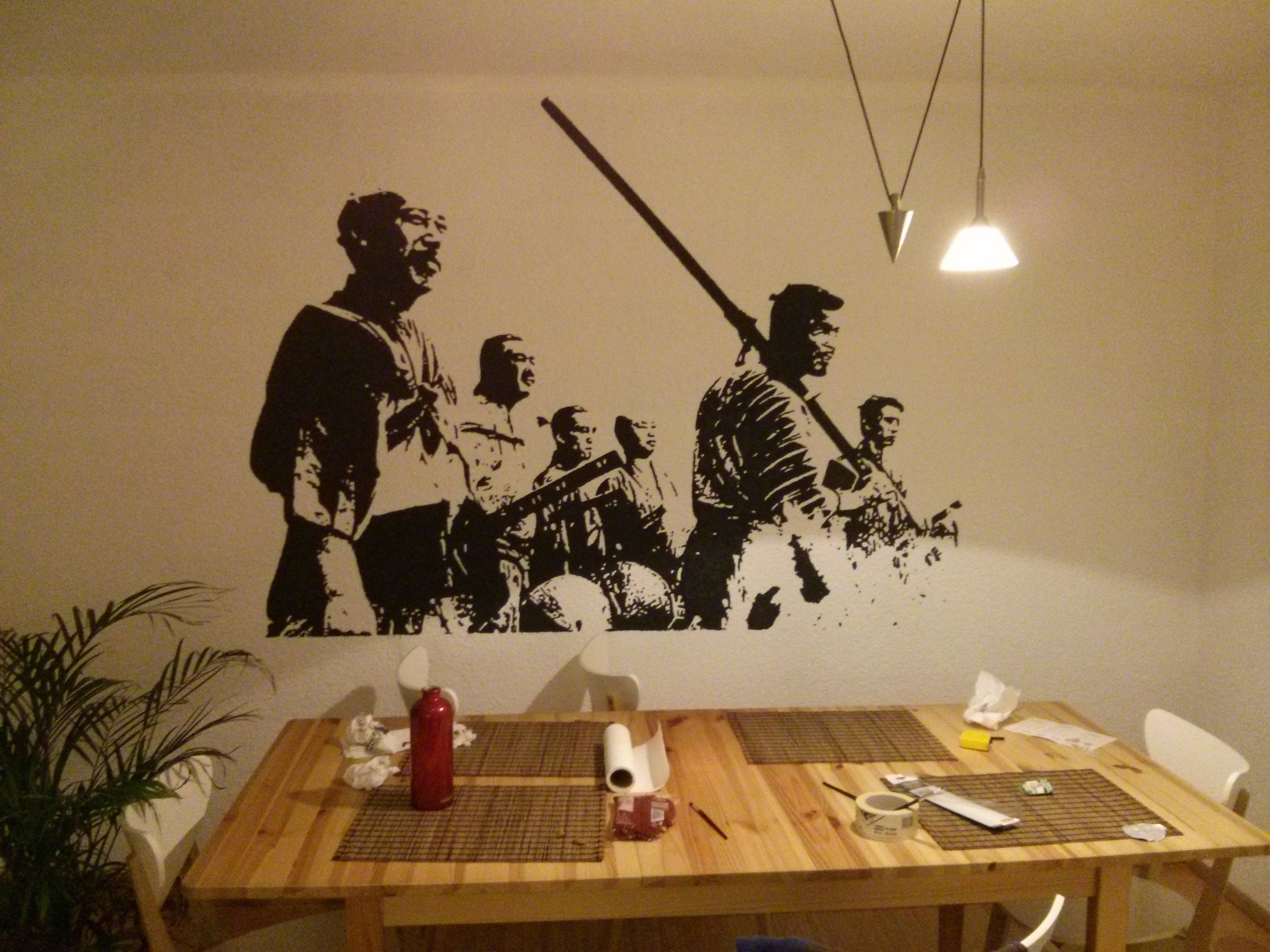 Do It Yourself Wall Art: Seven Samurai In Your Home! – Cube Breaker For Most Popular Samurai Wall Art (View 2 of 20)