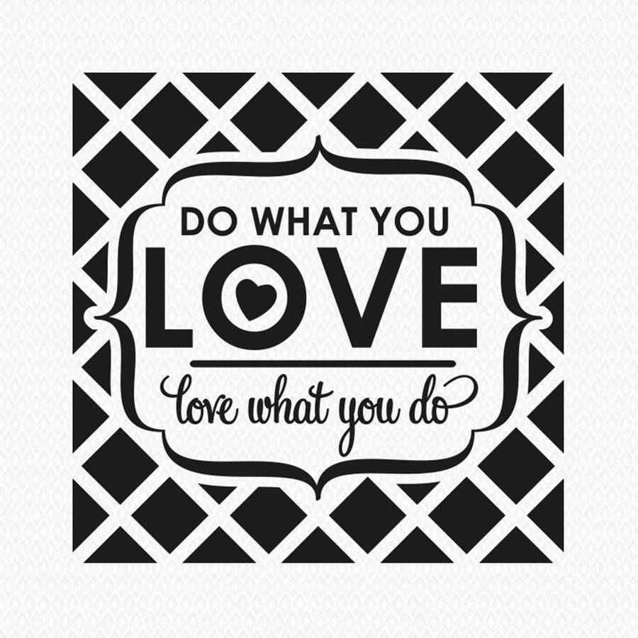 Do What You Love…' Wall Stickerwall Art | Notonthehighstreet Regarding Newest Love Wall Art (View 2 of 20)