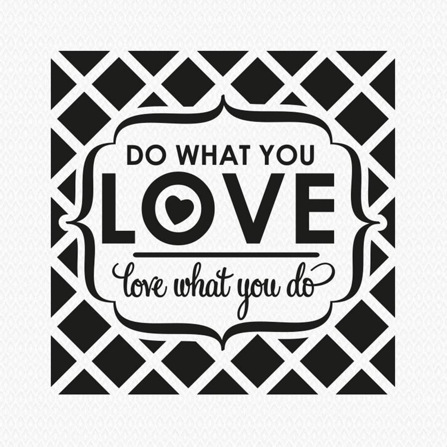 Do What You Love…' Wall Stickerwall Art   Notonthehighstreet Regarding Newest Love Wall Art (View 2 of 20)