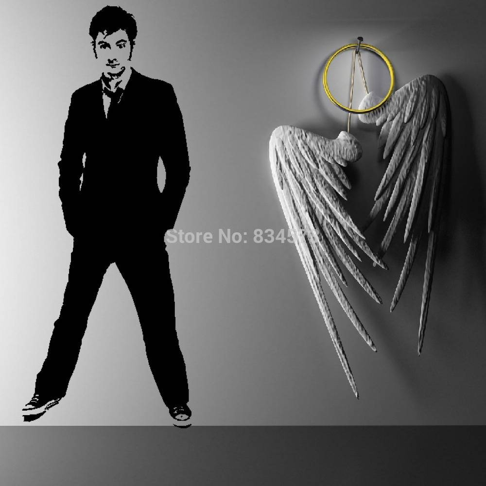 Doctor Who Timelord David Tennant Dw Wall Art Sticker Decal Home Inside Most Recent Doctor Who Wall Art (View 19 of 33)