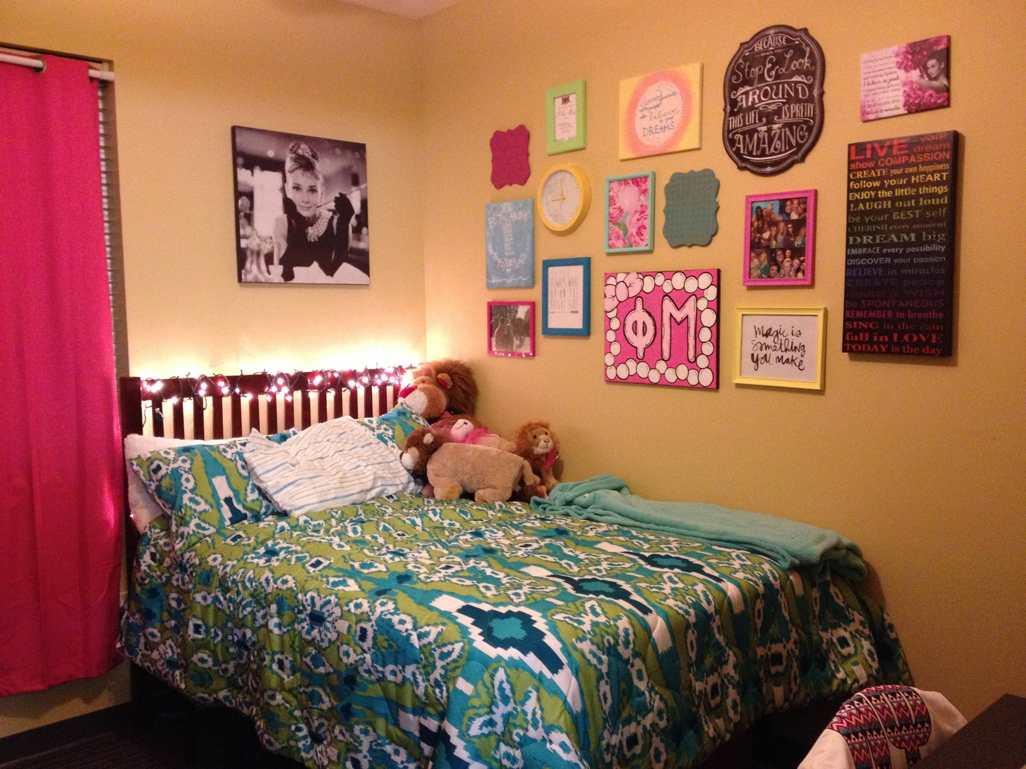 Dorm Room Wall Decorating Ideas Fair Design Inspiration F Intended For Most Recently Released College Dorm Wall Art (View 15 of 20)