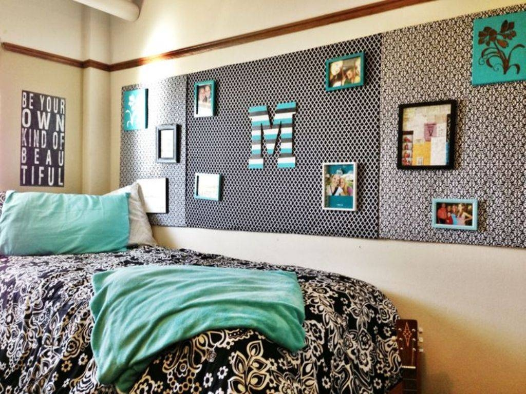 Dorm Room Wall Decorating Ideas Magnificent Decor Inspiration Cool Inside Most Up To Date College Dorm Wall Art (View 16 of 20)