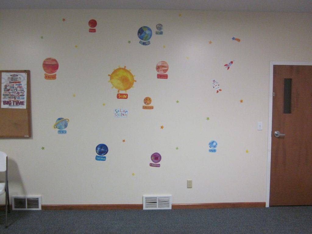 Best 30 of preschool wall decoration for Preschool wall art ideas