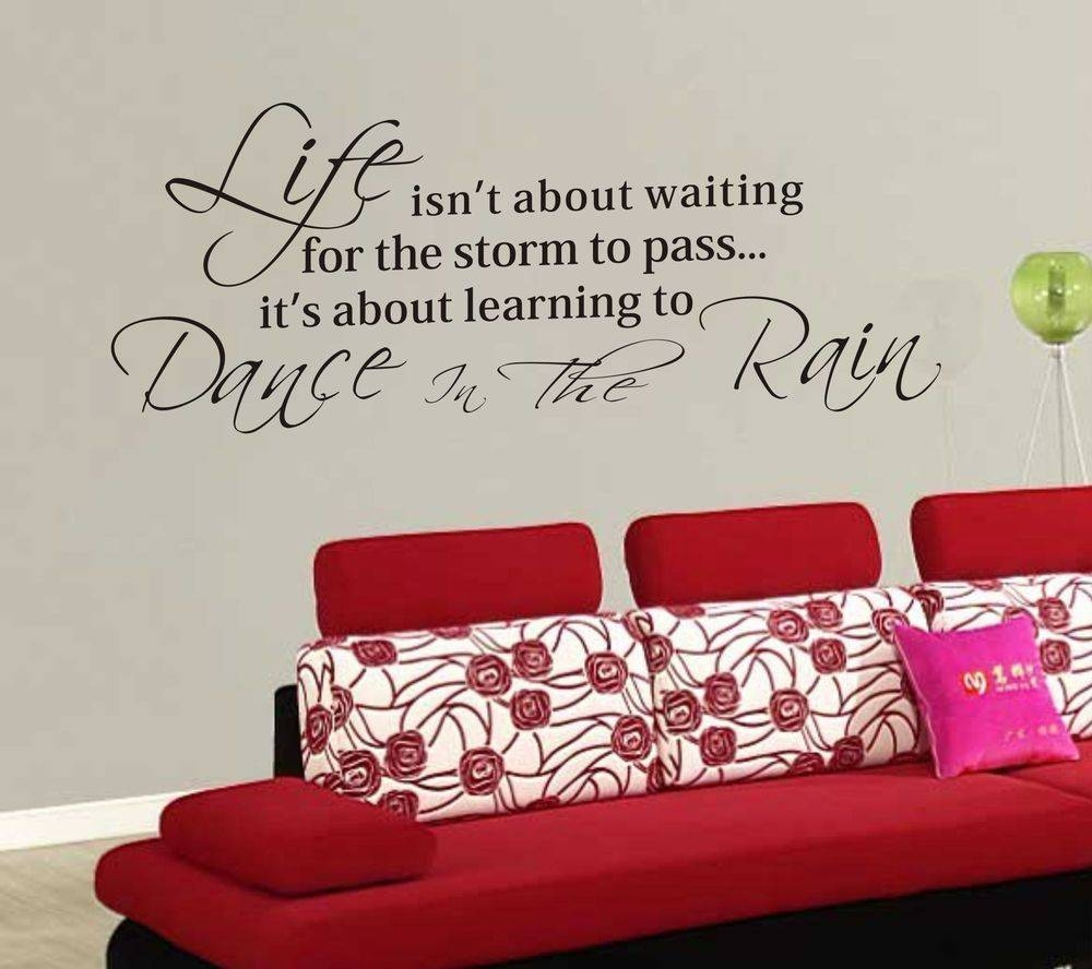 Download Life Quote Wall Stickers | Homean Quotes In Current Inspirational Sayings Wall Art (View 7 of 30)