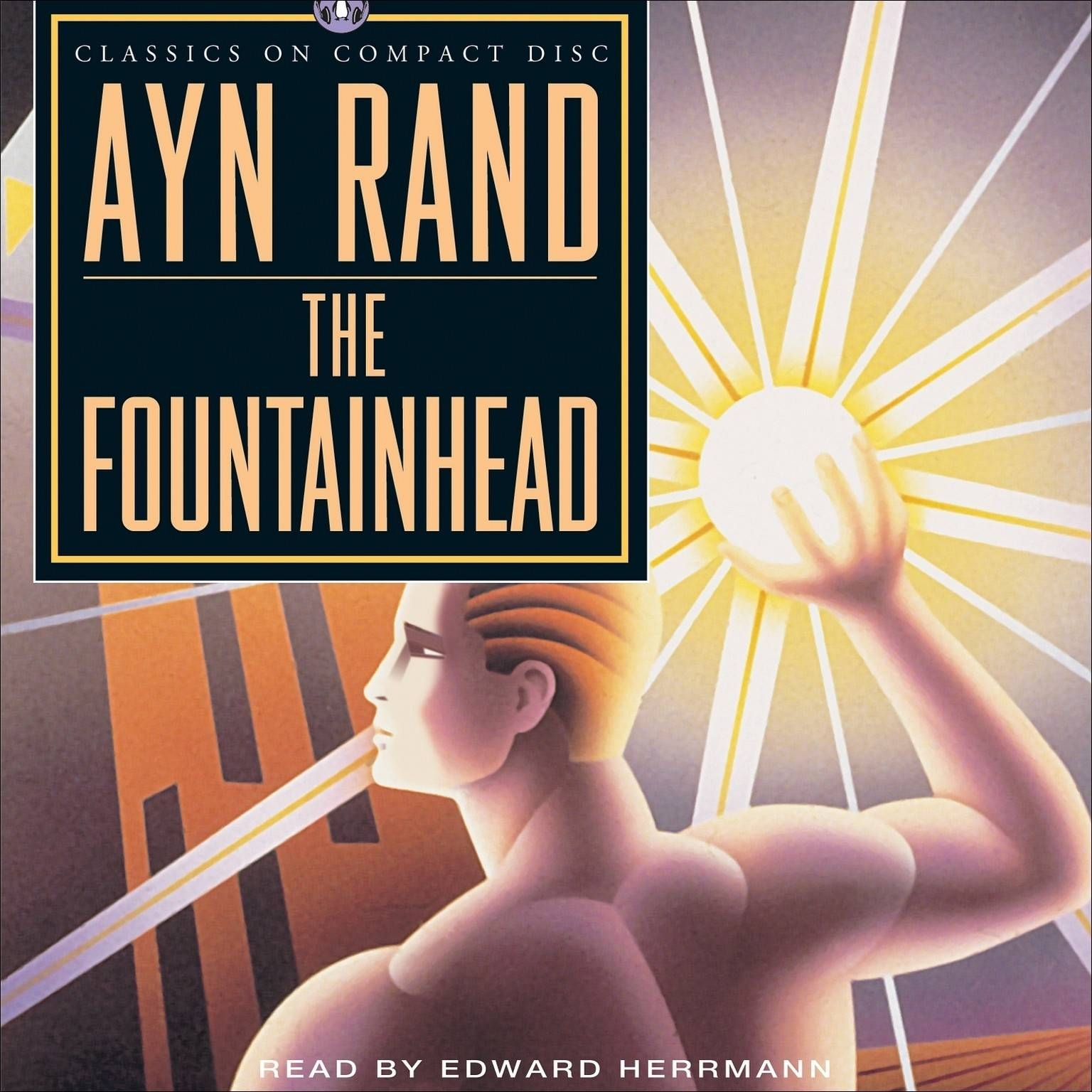 Download The Fountainhead (Abridged) Audiobookayn Rand For For Recent Atlas Shrugged Cover Art (View 17 of 20)