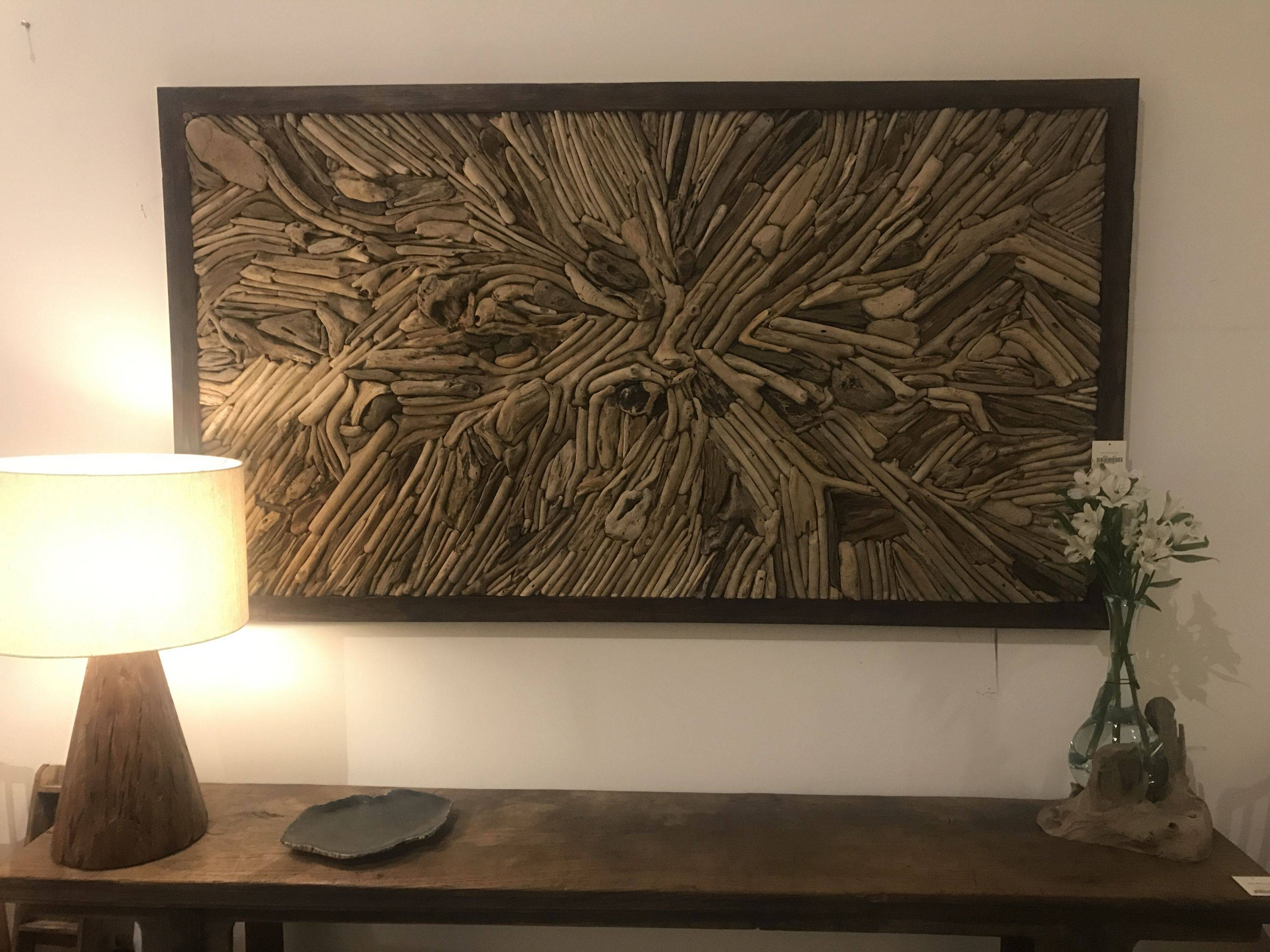 Driftwood Wall Art – Mecox Gardens For Most Current Driftwood Wall Art (View 12 of 30)