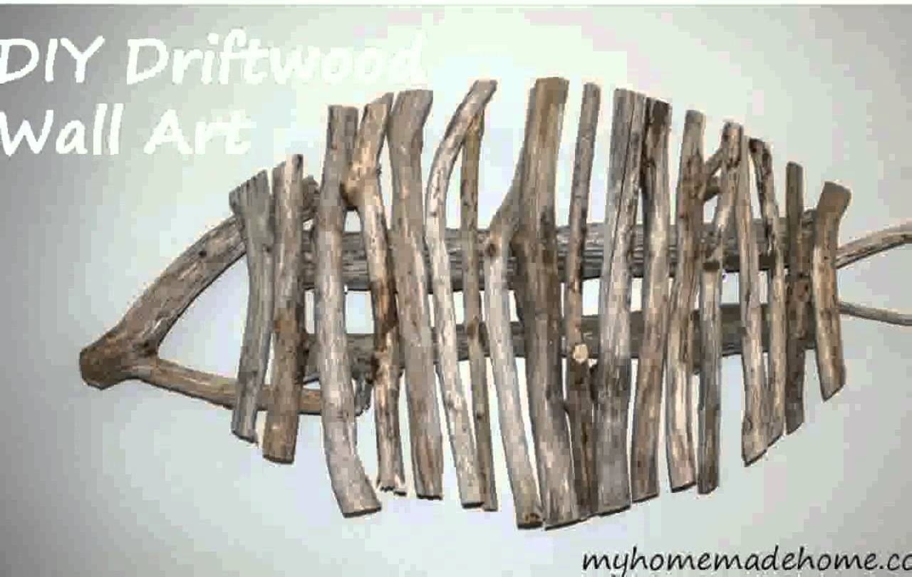 Driftwood Wall Art – Youtube Within Newest Driftwood Wall Art (View 7 of 30)