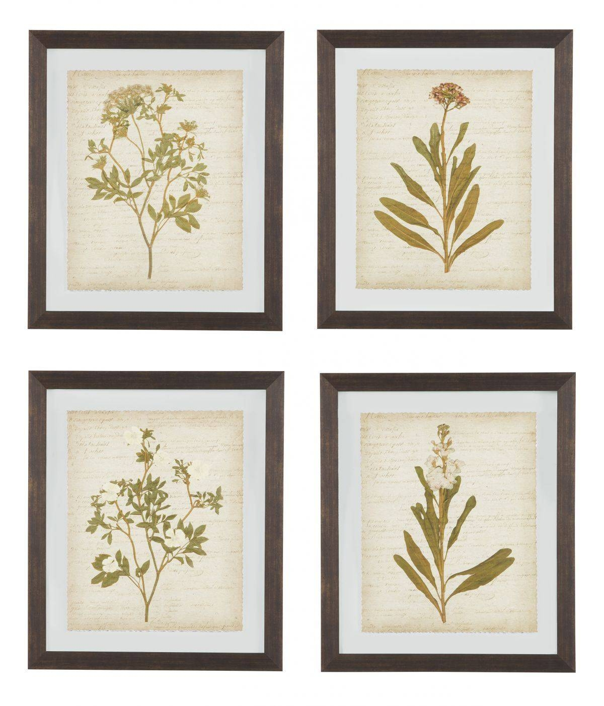 Dyani 4 Piece Wall Art Set For Newest 4 Piece Wall Art (View 8 of 15)
