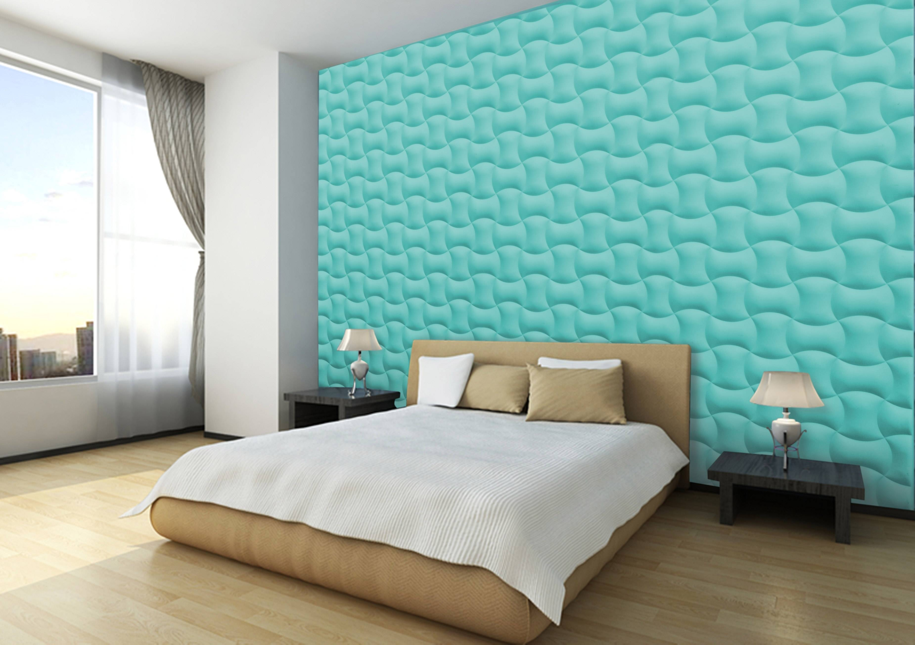 Easy Assemble 3d Wall Panels — The Home Redesign Within 2018 3d Plastic Wall Panels (Gallery 9 of 20)