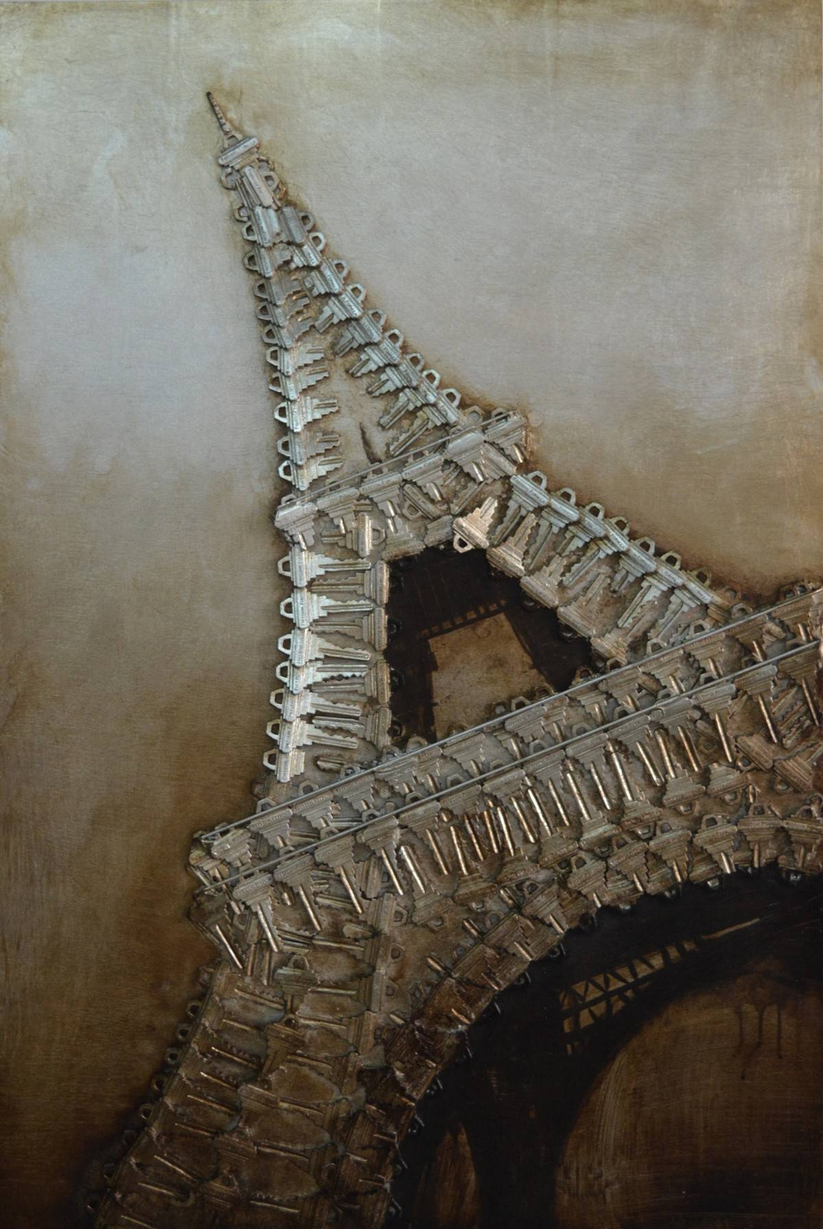 Eiffel Tower 3d Metal Wall Art – Blackbrook Interiors With 2017 Eiffel Tower Metal Wall Art (View 6 of 30)