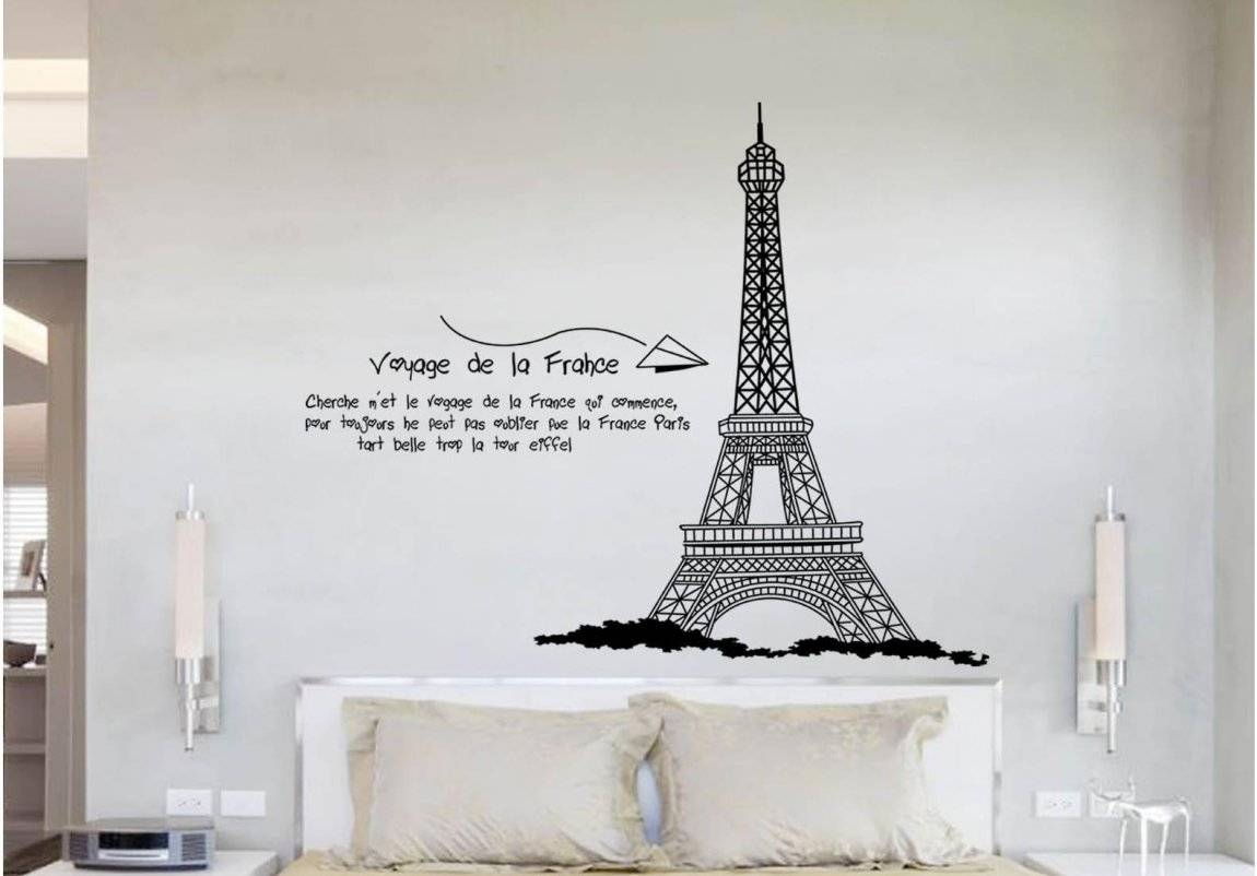 eiffel tower bedroom decor 30 ideas of eiffel tower metal wall 15213