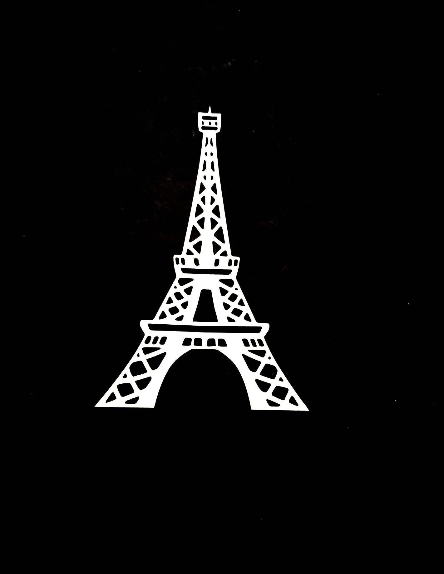Eiffel Tower Metal Wall Art/paris Decor/eiffel Tower With Most Recently Released Metal Eiffel Tower Wall Art (View 14 of 30)