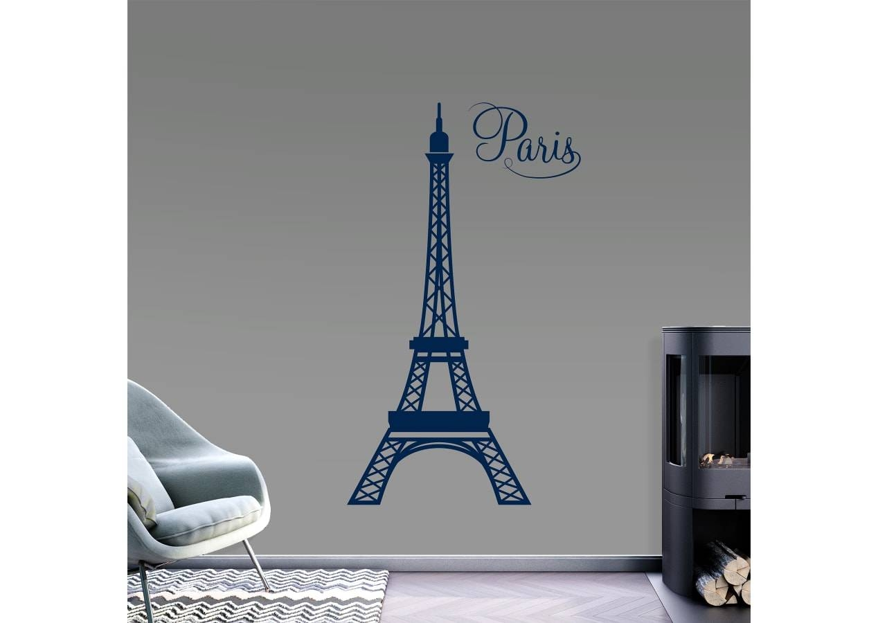 Eiffel Tower Wall Decal | Shop Fathead® For Wall Art Décor For Most Recent Eiffel Tower Wall Art (View 20 of 20)
