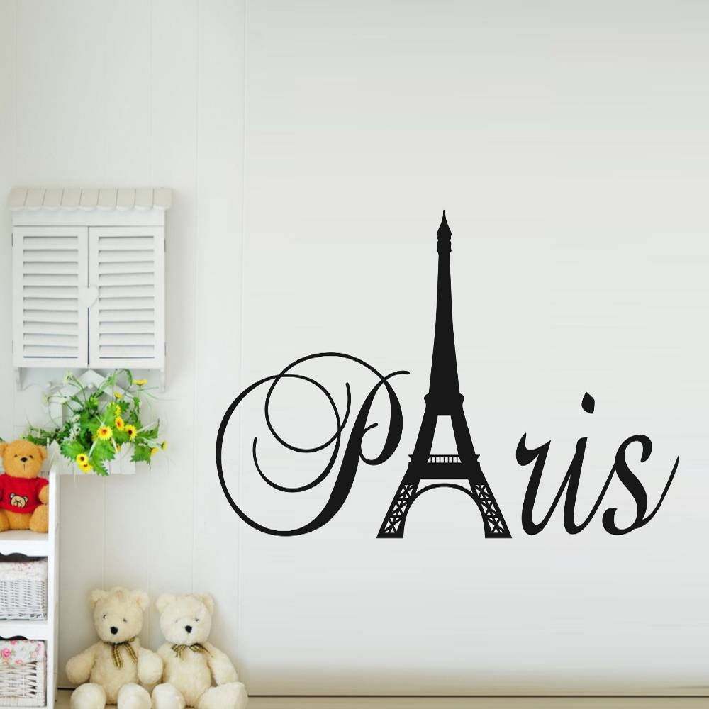 Eiffel Tower Wall Decor | Roselawnlutheran With Most Current Metal Eiffel Tower Wall Art (View 16 of 30)