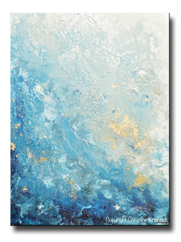 Enchanting Navy Blue Nursery Wall Art Original Art Modern Blue Throughout Newest Dark Blue Wall Art (Gallery 17 of 20)