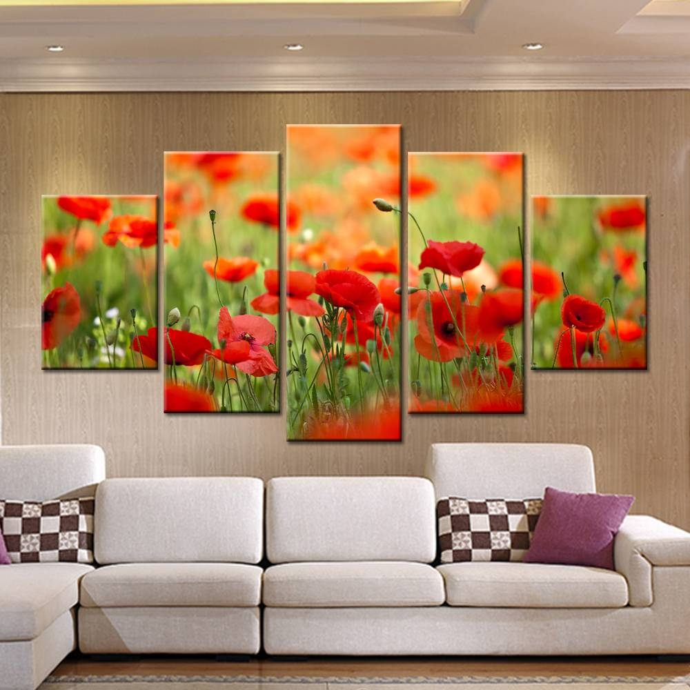 Endearing 25+ Poppies Wall Art Decorating Inspiration Of 44 Poppy In 2017 Red Poppy Canvas Wall Art (Gallery 12 of 20)