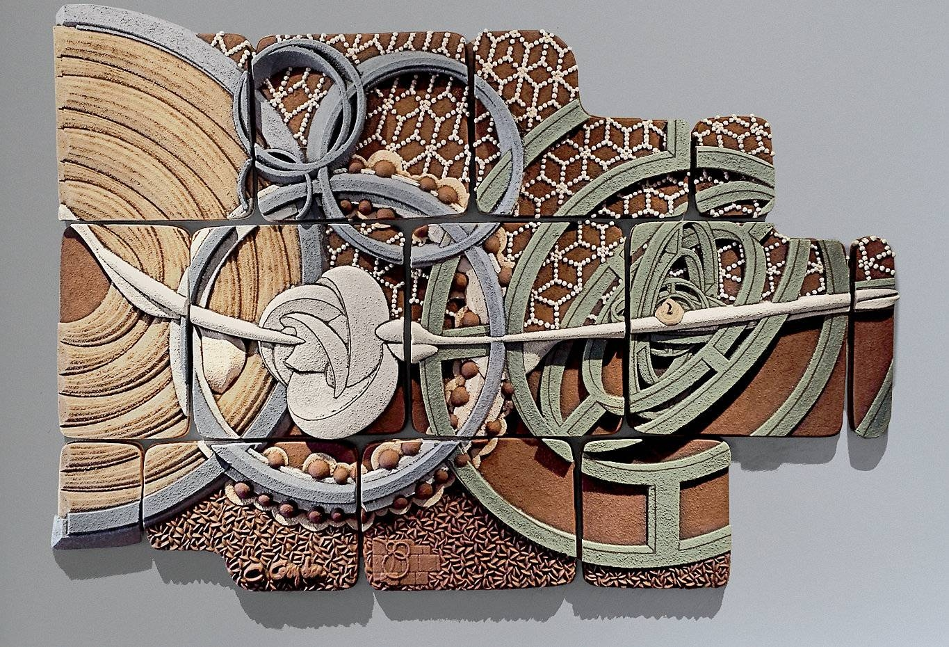 Equisymbrium No. 2christopher Gryder (ceramic Wall Sculpture In Most Recent Large Ceramic Wall Art (Gallery 2 of 25)