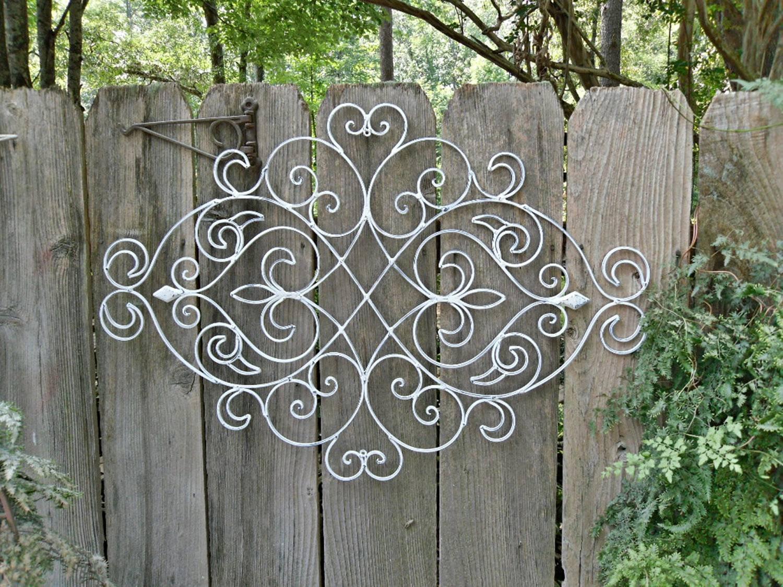 Ergonomic Metal Garden Gate Wall Decor Sculpture And Garden Art Inside Latest Metal Gate Wall Art (View 2 of 32)