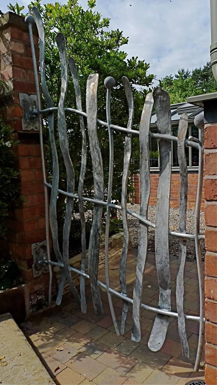 Ergonomic Metal Garden Gate Wall Decor Sculpture And Garden Art Intended For 2018 Metal Gate Wall Art (View 13 of 32)