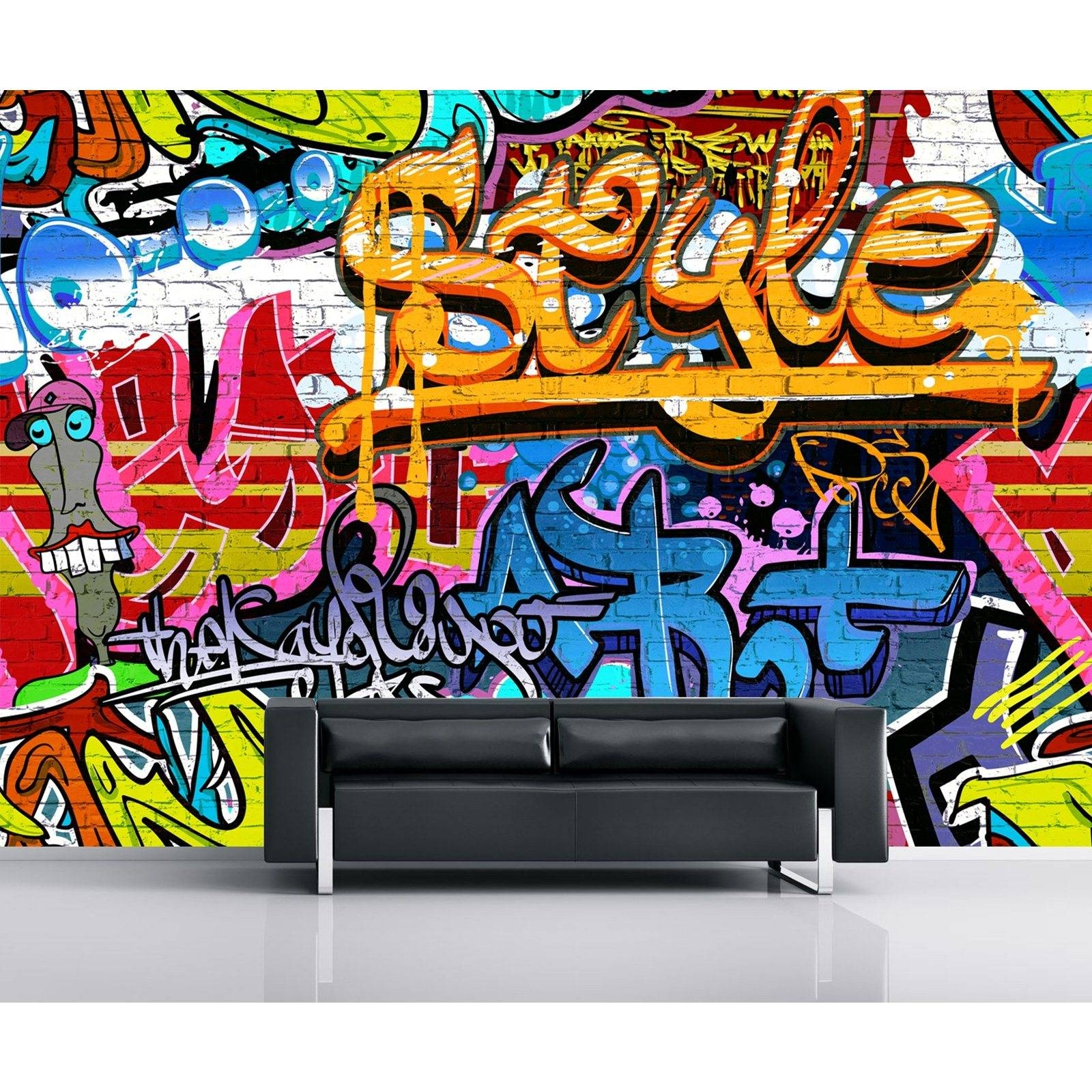 Ergonomic Personalized Graffiti Wall Decals Stock Photo Graffiti For Most Current Personalized Graffiti Wall Art (View 6 of 30)