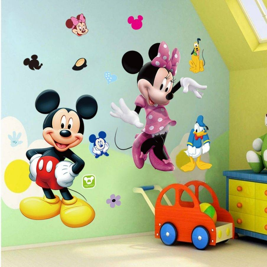 Ergonomic Wall Ideas Mickey Mouse Cartoon Wall Mickey Mouse Wall For Most Popular Mickey Mouse Clubhouse Wall Art (View 4 of 20)
