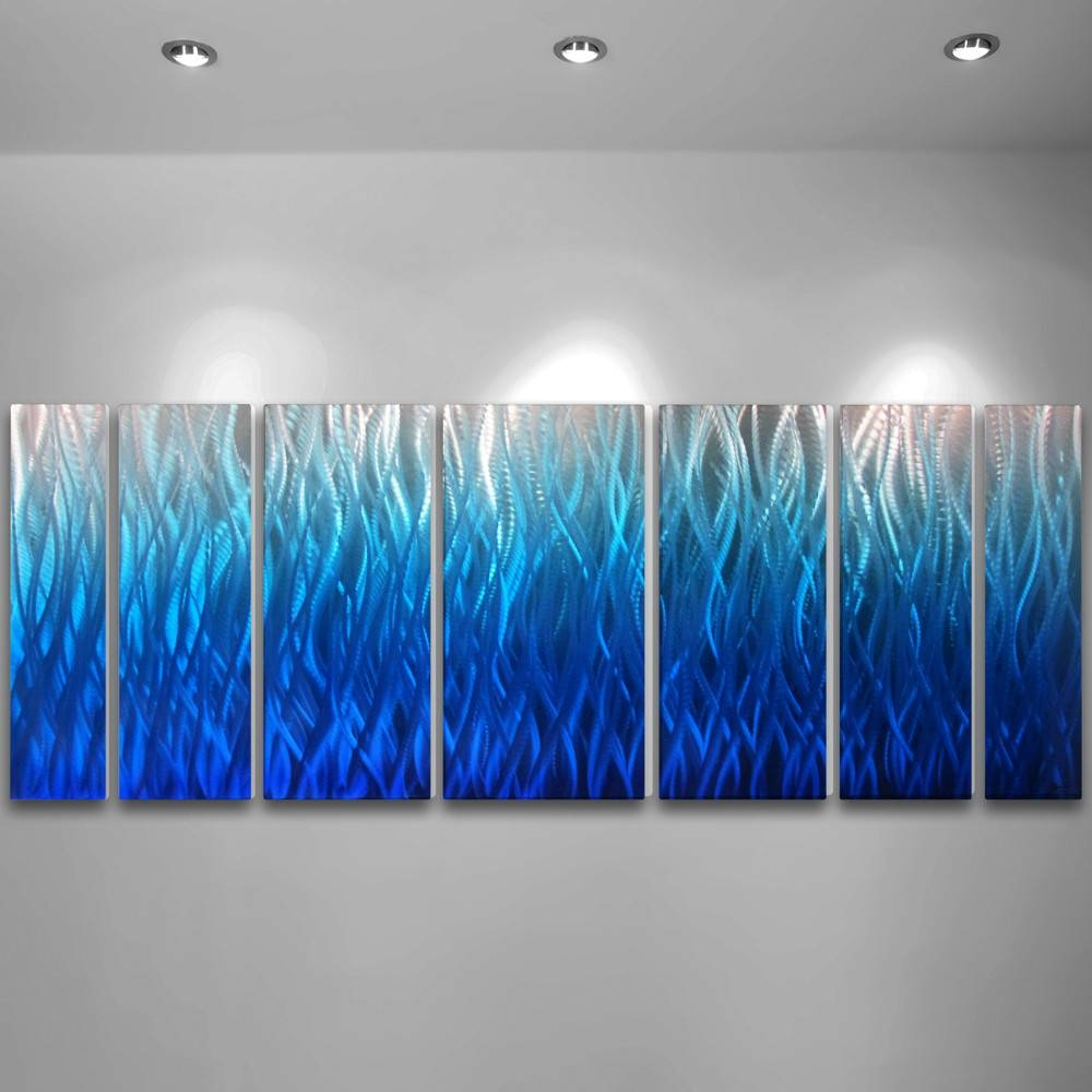 20 photos large abstract metal wall art for Abstract decoration