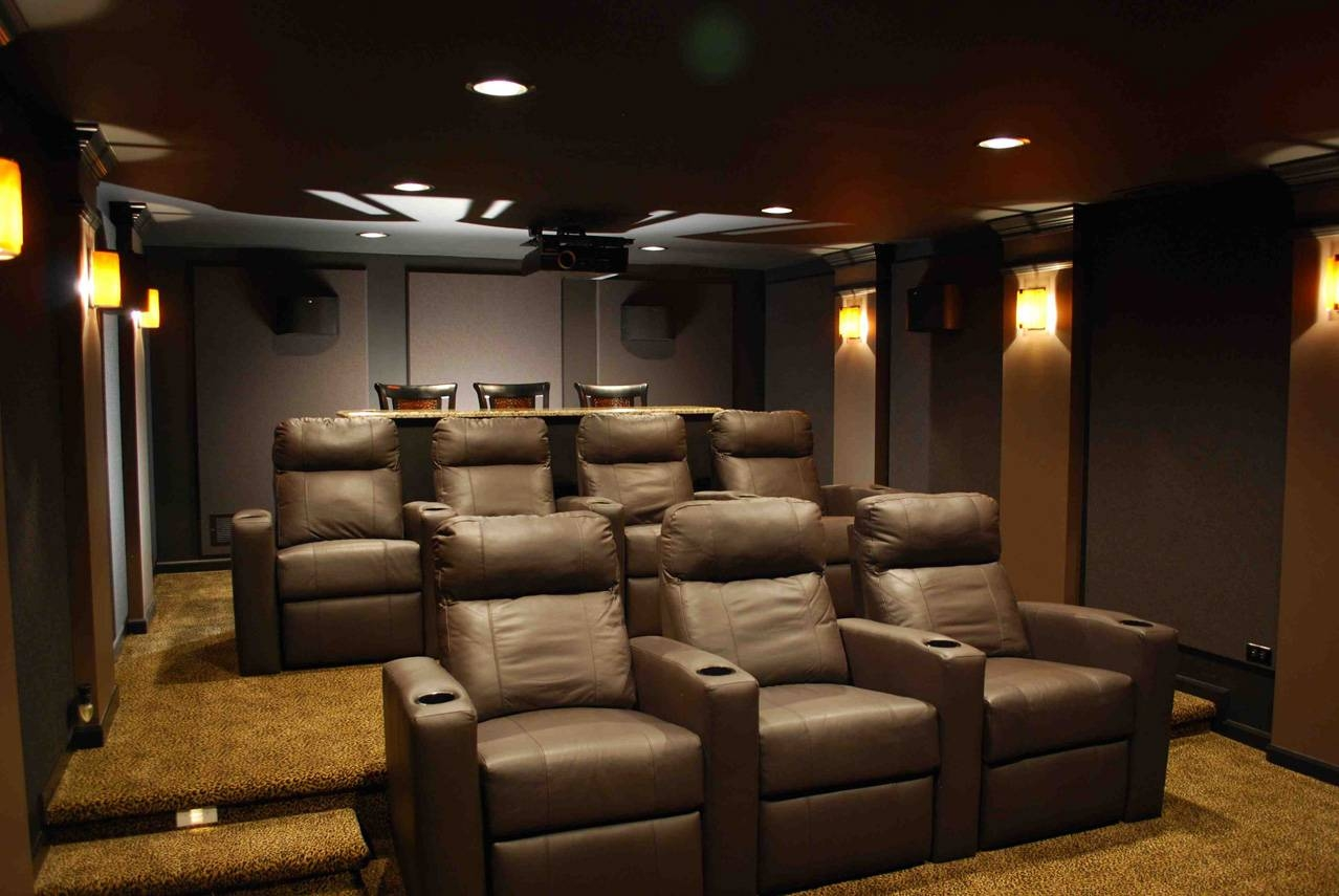 Excellent Small Media Room 58 Small Media Room Ideas On A Budget Pertaining To Most Current Media Room Wall Art (View 8 of 20)