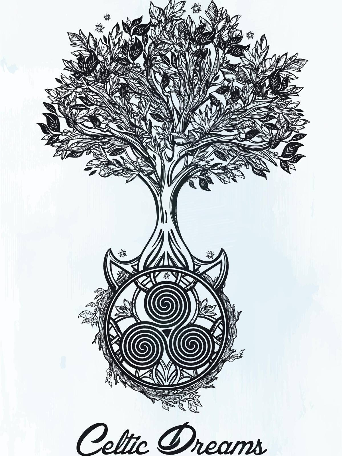 Explaining The Hidden Meaning Of The Celtic Tree Of Life Intended For Most Popular Celtic Tree Of Life Wall Art (View 30 of 30)
