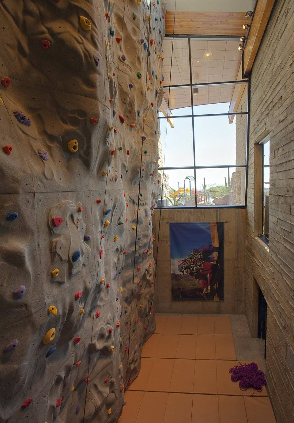 Exterior Cool Home Climbing Wall Designs For Your Hob Elegant Home Within Most Up To Date Home Bouldering Wall Design (View 12 of 20)