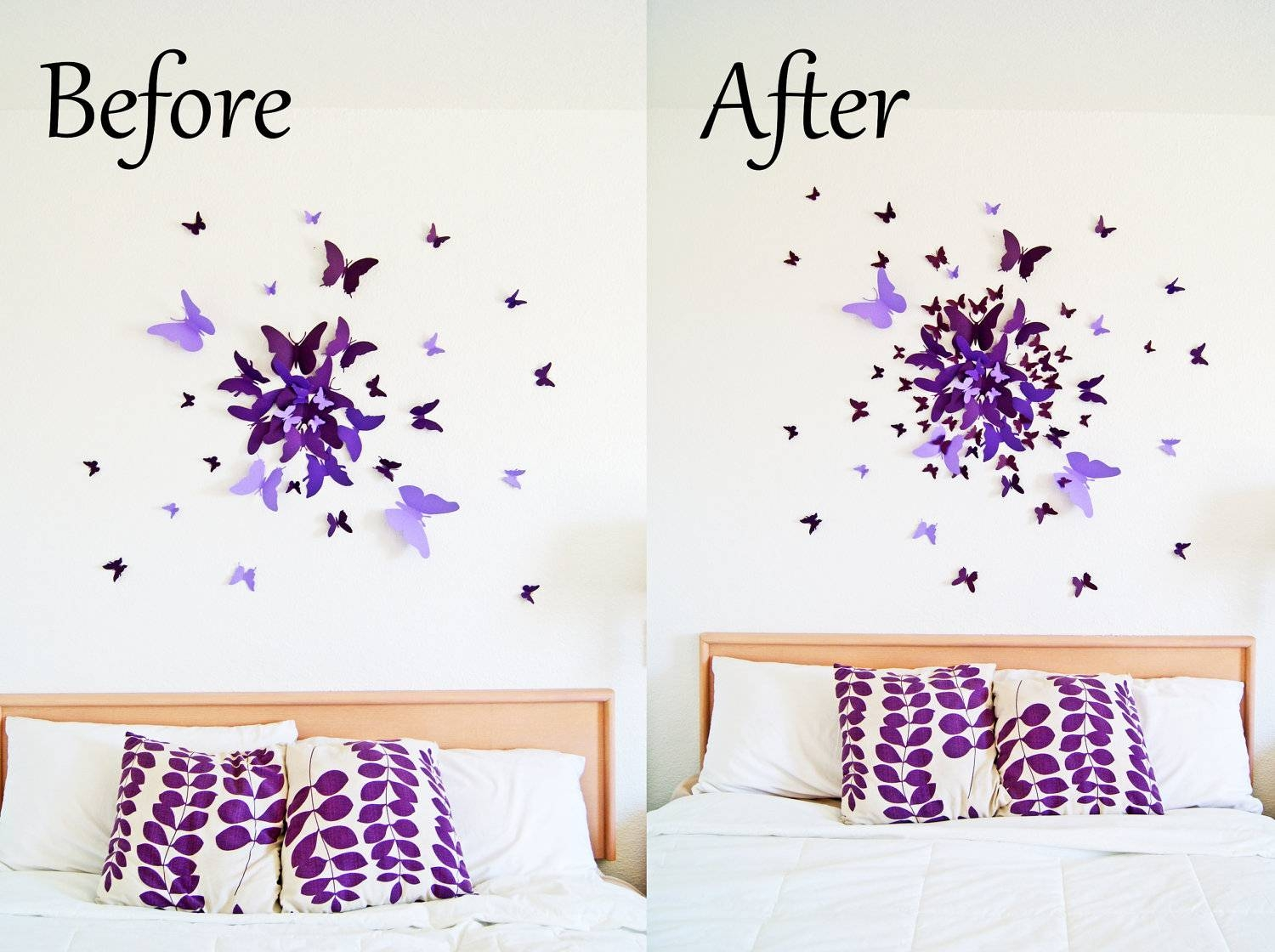Featured Photo of Butterflies 3d Wall Art