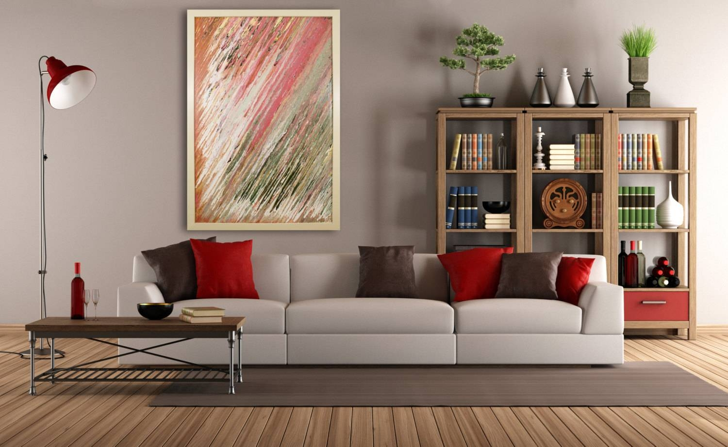 Extra Large Wall Art Original Abstract Glass Art Deco Within Current Large Contemporary Wall Art (View 12 of 20)