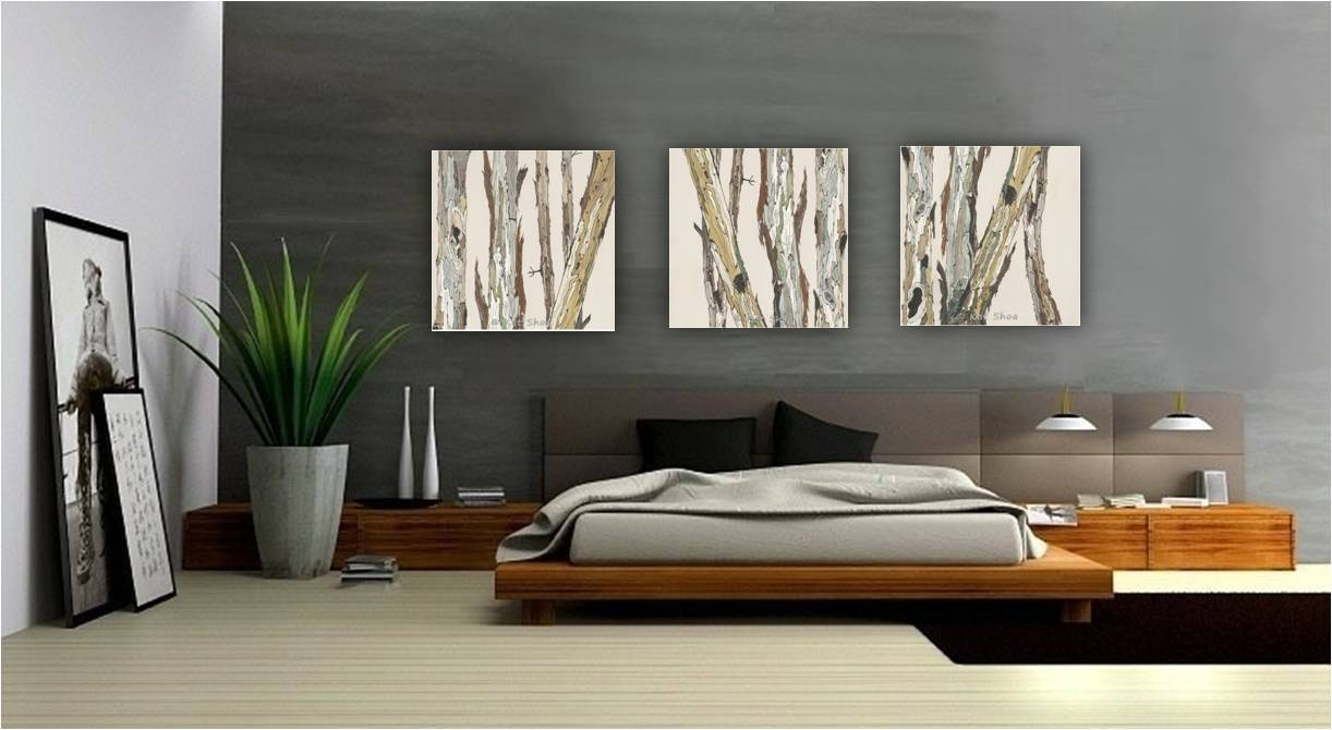 Extra Large Wall Art Oversized Triptych Set Dining Room Intended For 2018 Large Triptych Wall Art (View 7 of 20)