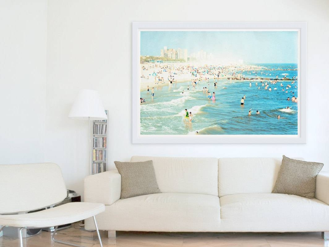 Extraordinary 20+ Large Coastal Wall Art Inspiration Design Of Pertaining To Latest Beach Wall Art (Gallery 13 of 15)