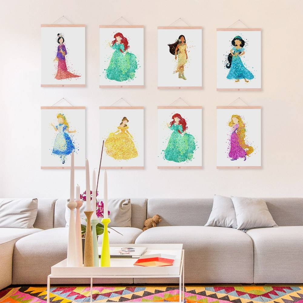 Extraordinary 60+ Disney Princess Canvas Wall Art Decorating In Recent Disney Canvas Wall Art (Gallery 9 of 20)