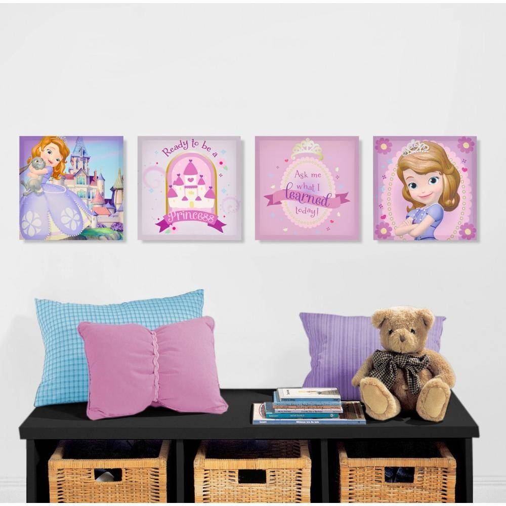 Extraordinary 60+ Disney Princess Canvas Wall Art Decorating Regarding Best And Newest Princess Canvas Wall Art (View 11 of 20)