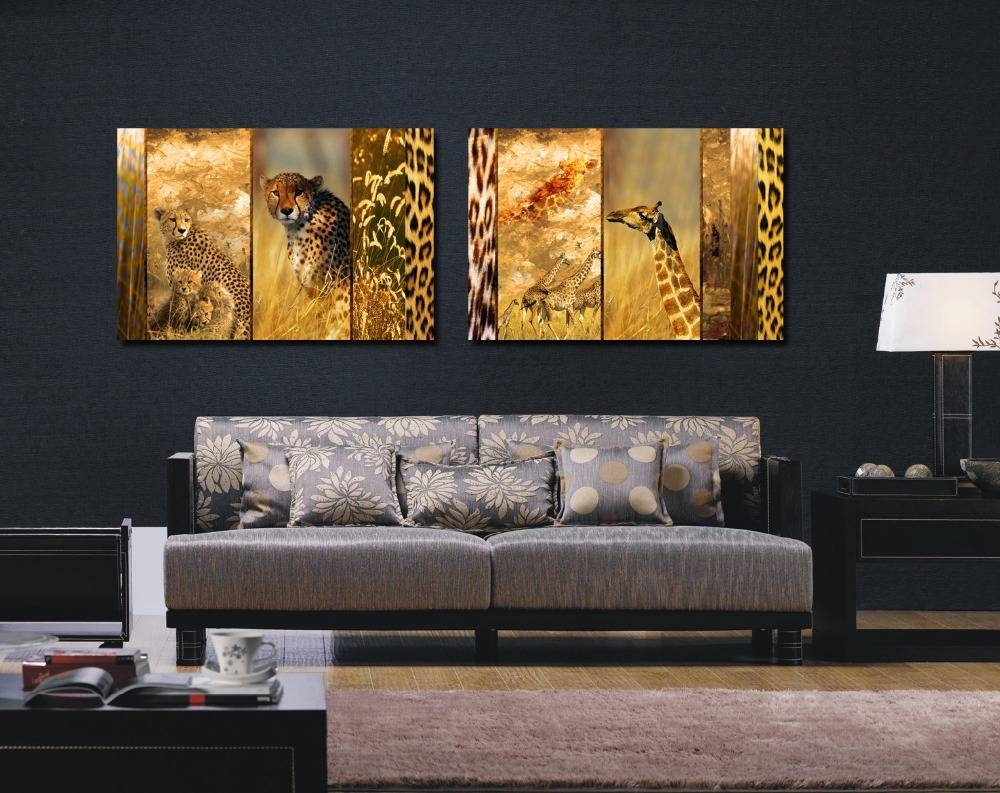 Extraordinary 70+ Animal Print Wall Art Design Inspiration Of Best Throughout Current Leopard Print Wall Art (Gallery 10 of 25)