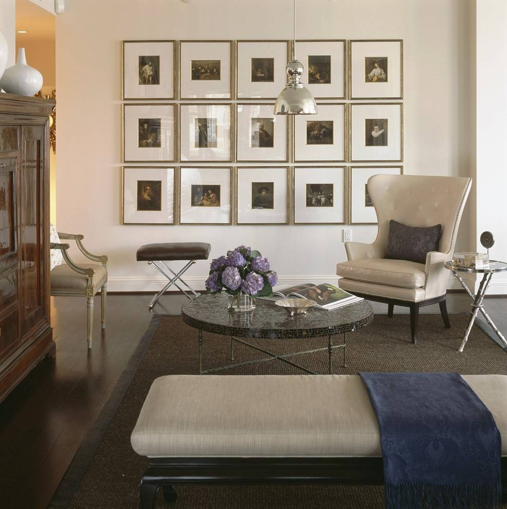 Extraordinary Wall Gallery Frame Set Decorating Ideas Gallery In Regarding Best And Newest Wall Art Decor For Family Room (View 7 of 20)