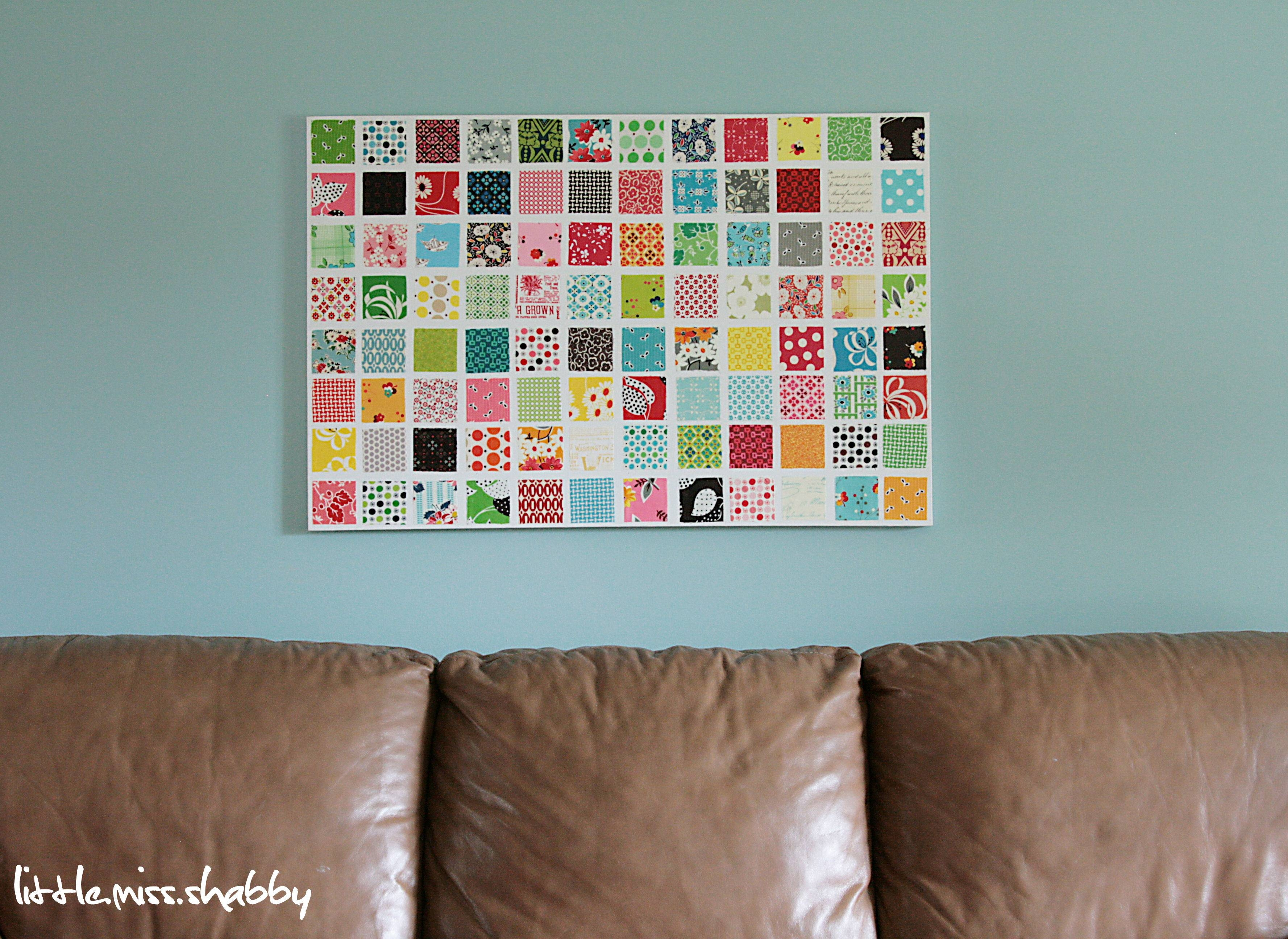 Fabric Wall Art – Coriander Quilts With Current Fabric Wall Art (View 7 of 20)