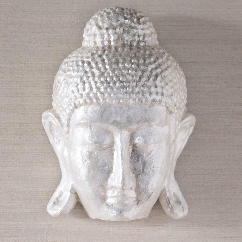 Face Of Buddha Capiz Wall Art   Vivaterra Pertaining To 2017 Capiz Shell Wall Art (View 8 of 30)