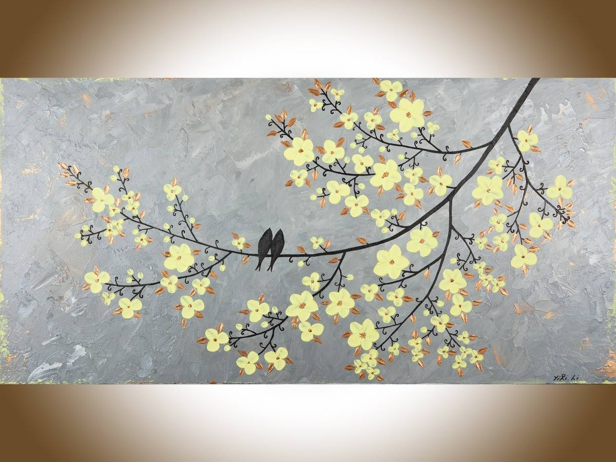 Fair 80+ Yellow And Grey Wall Art Design Decoration Of Best 25+ In Best And Newest Yellow Grey Wall Art (View 5 of 15)