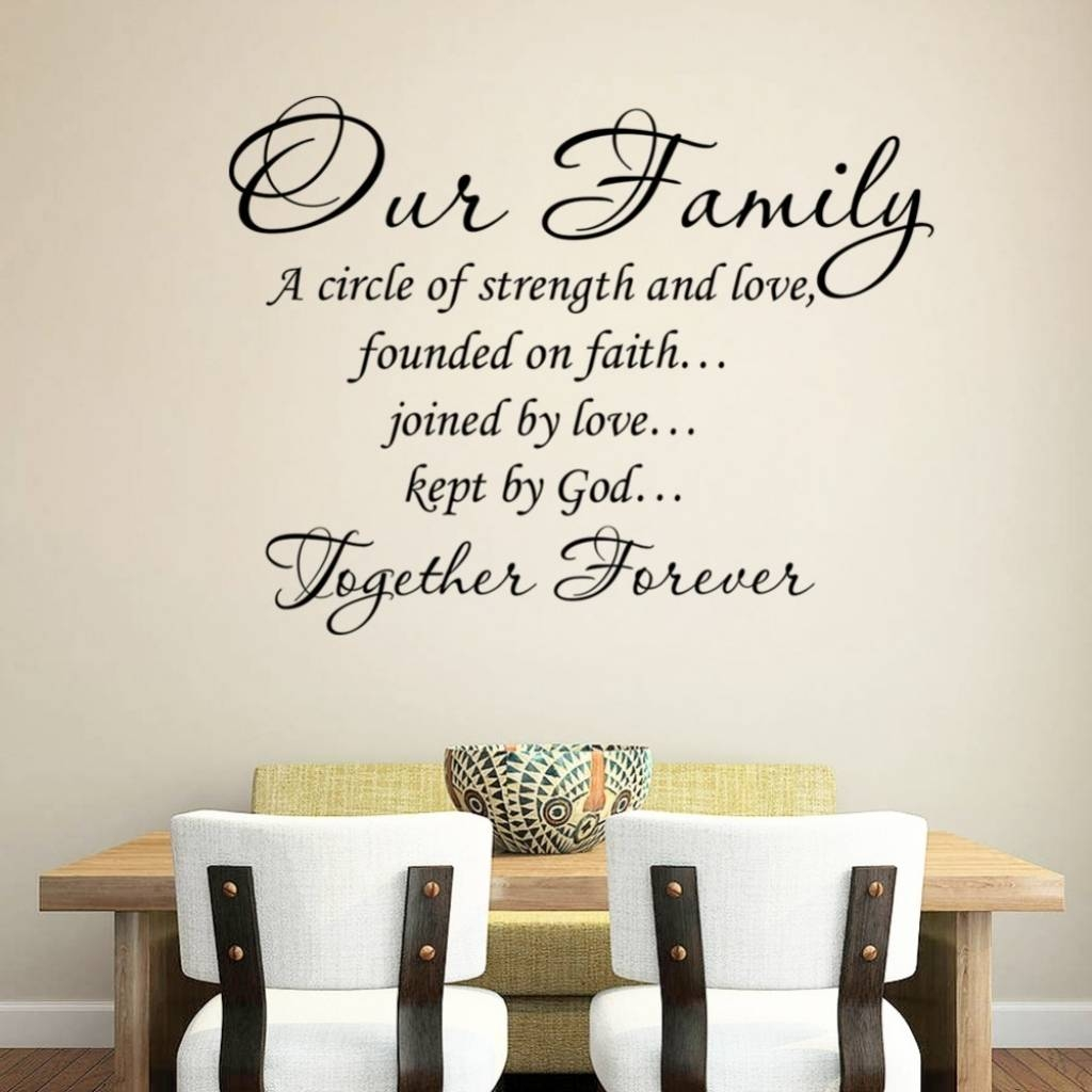 Family Quote Wall Art – Daily Quotes Of The Life Throughout Recent Family Photo Wall Art (View 11 of 25)
