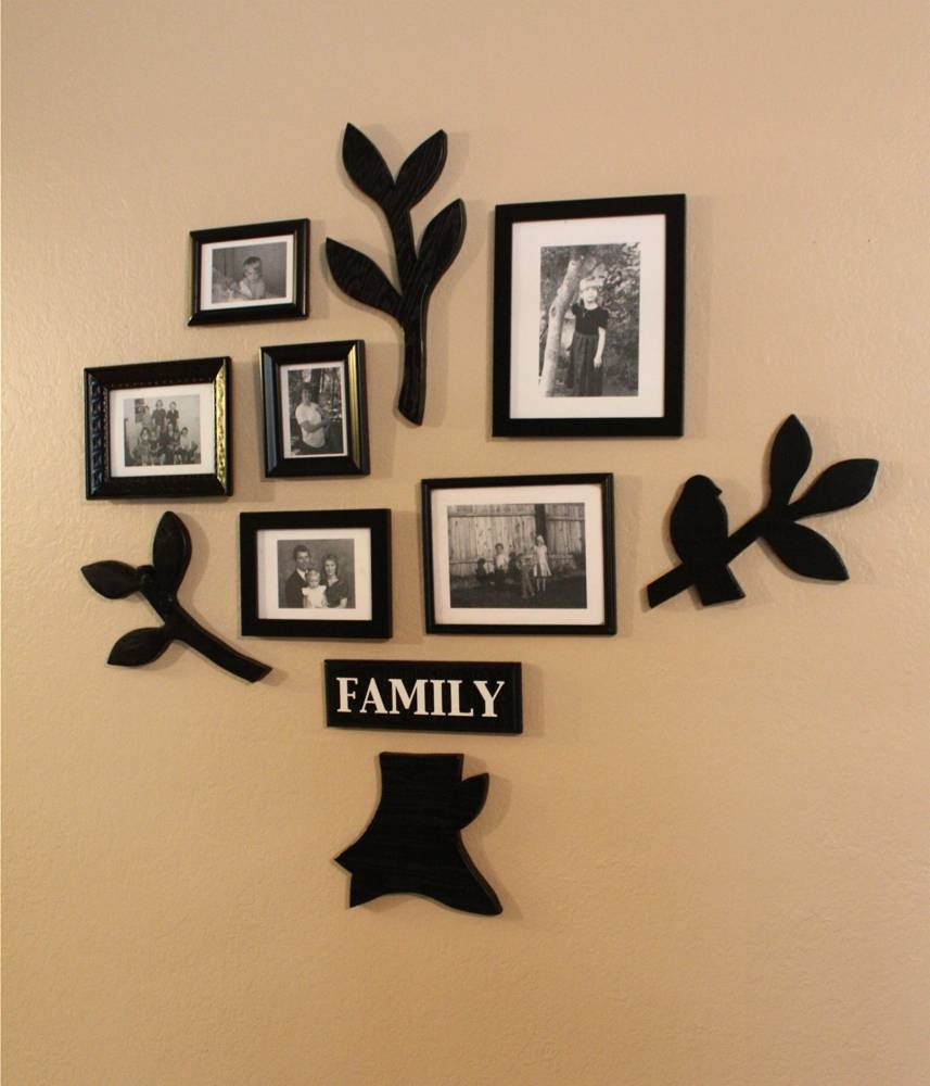Family Tree Wall Art Intended For Most Recently Released Family Photo Wall Art (View 2 of 25)