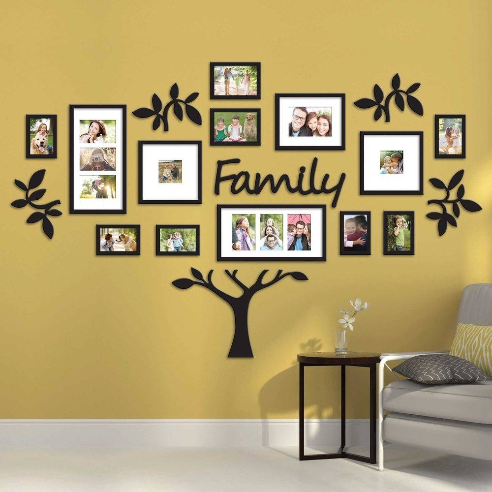 Family Wall Art Picture Frames | Home Design Ideas Inside Most Up To Date Exclusive Wall Art (View 8 of 20)