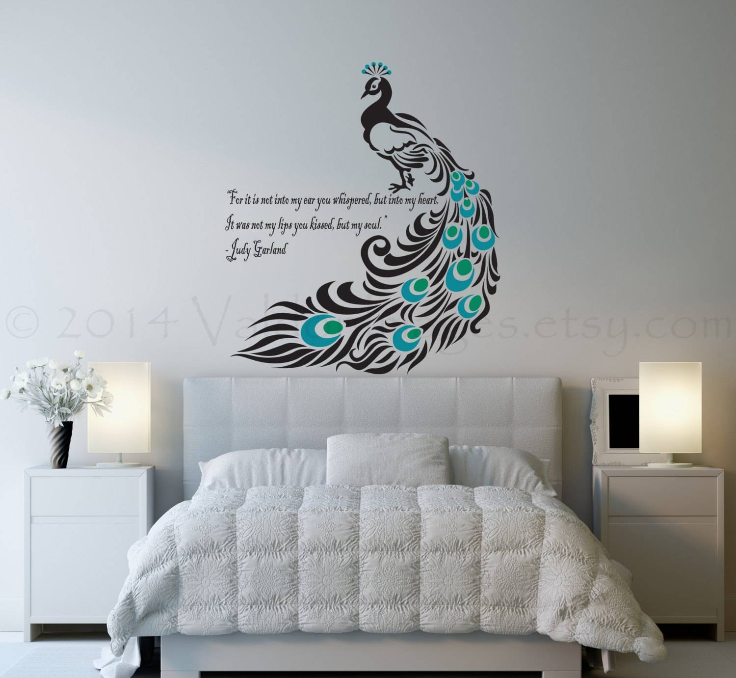 Fancy Bedroom Wall Art With Wall Decals Also Quote Words And Pertaining To 2017 Bedroom Wall Art (View 1 of 25)