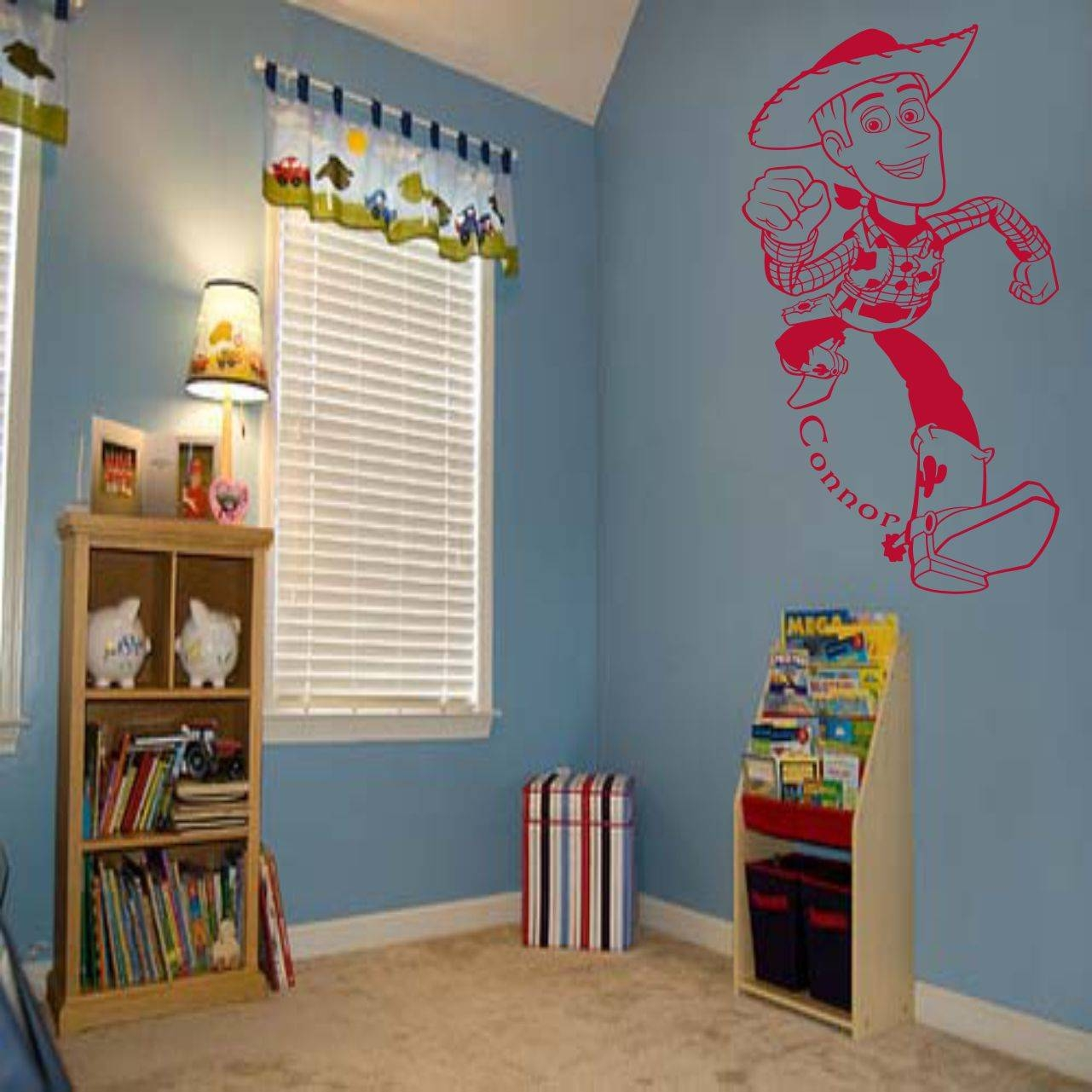 Fantastic Toy Story Woody Wall Art Decal Vinyl Sticker Wall Throughout 2017 Toy Story Wall Stickers (View 6 of 25)