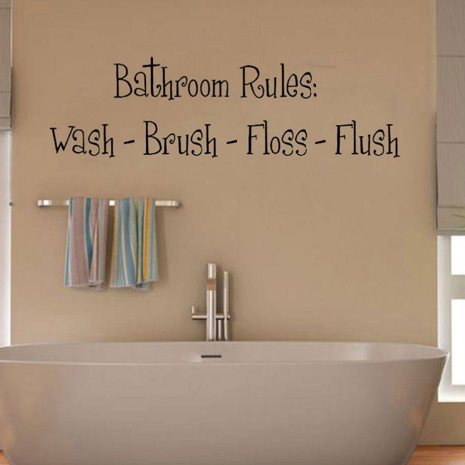 Fantastic Wall Stickers For Bathrooms About Home Design Ideas With With Regard To Most Up To Date Fish Decals For Bathroom (View 14 of 30)