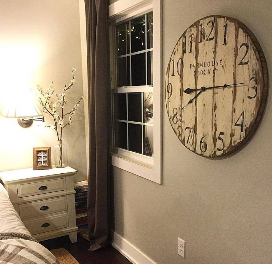 Farmhouse Clock Co (View 17 of 25)