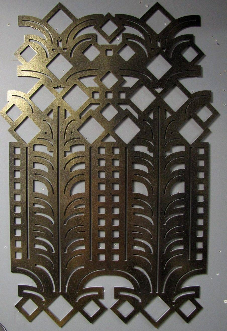 Featured Photo of Art Deco Metal Wall Art