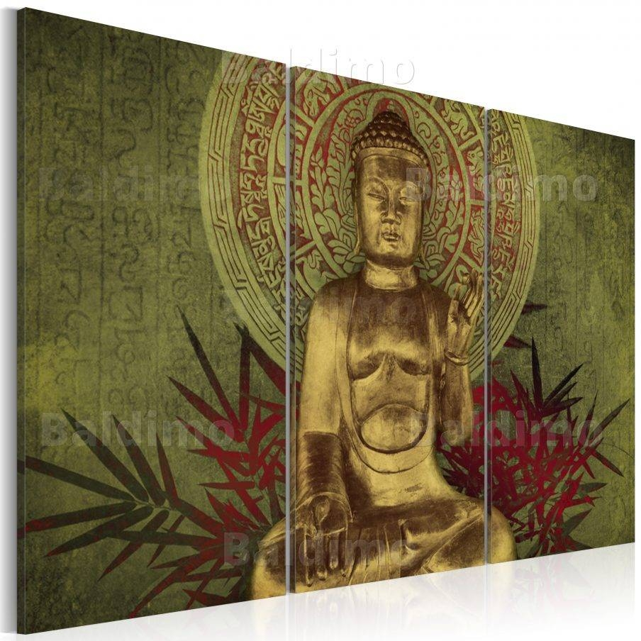 Fascinating Buddha Wall Art Canada Large Canvas Wall Art Buddha pertaining to Most Current Large Buddha Wall Art